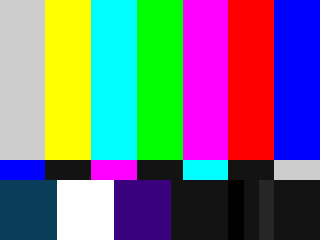 Rainbow TV Screen